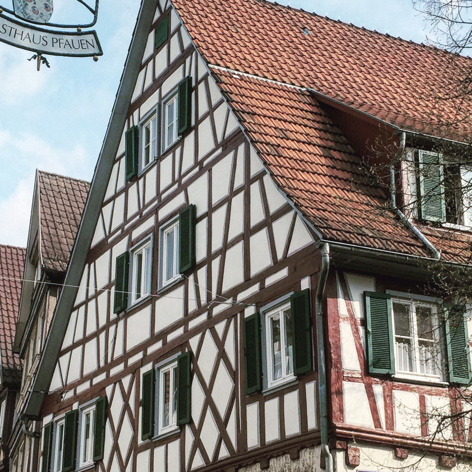 Schorndorf Fachwerkhaus Altstadt-Treff Restaurierung